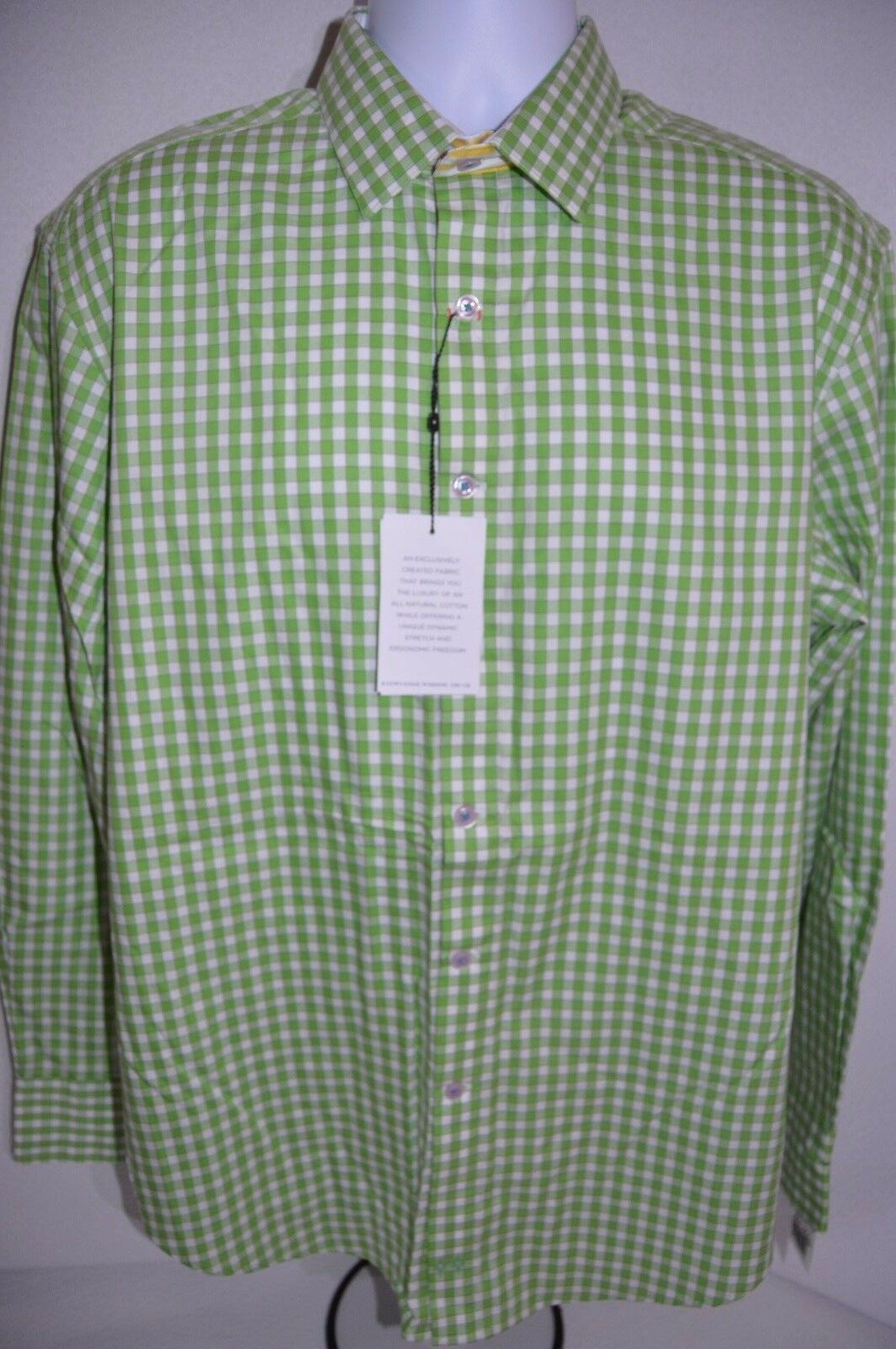ROBERT GRAHAM Man's X Collection blue Casual Shirt NEW Size Large Retail