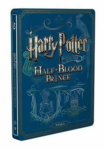 Harry-Potter-and-the-HALF-BLOOD-PRINCE-Ltd-Steelbook-2-BluRay-italiano