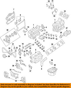 details about subaru oem 02 14 impreza engine timing cover right 13573aa131 1998 2.3 Ford Timing Diagram