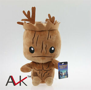 Marvel-Hero-Guardians-of-the-Galaxy-Figure-Groot-Stuffed-Plush-Kid-039-s-Toy-Present