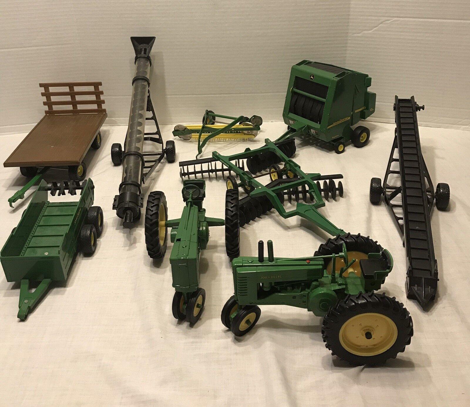 Centro comercial profesional integrado en línea. Lote de tractores John Deere Deere Deere Juguete Coleccionable & equipos agrícolas  hasta un 70% de descuento