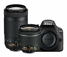 NIKON D3300 with AF-P 18-55mm VR + AF-P 70-300mm f/4.5-6.3ED VR Kit Lens (SMP4)