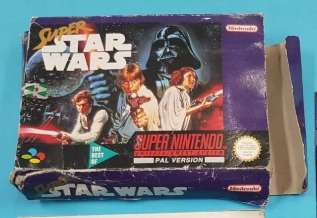 Super Star Wars - Boxed - Super Nintendo Entertainment system (SNES) 1996