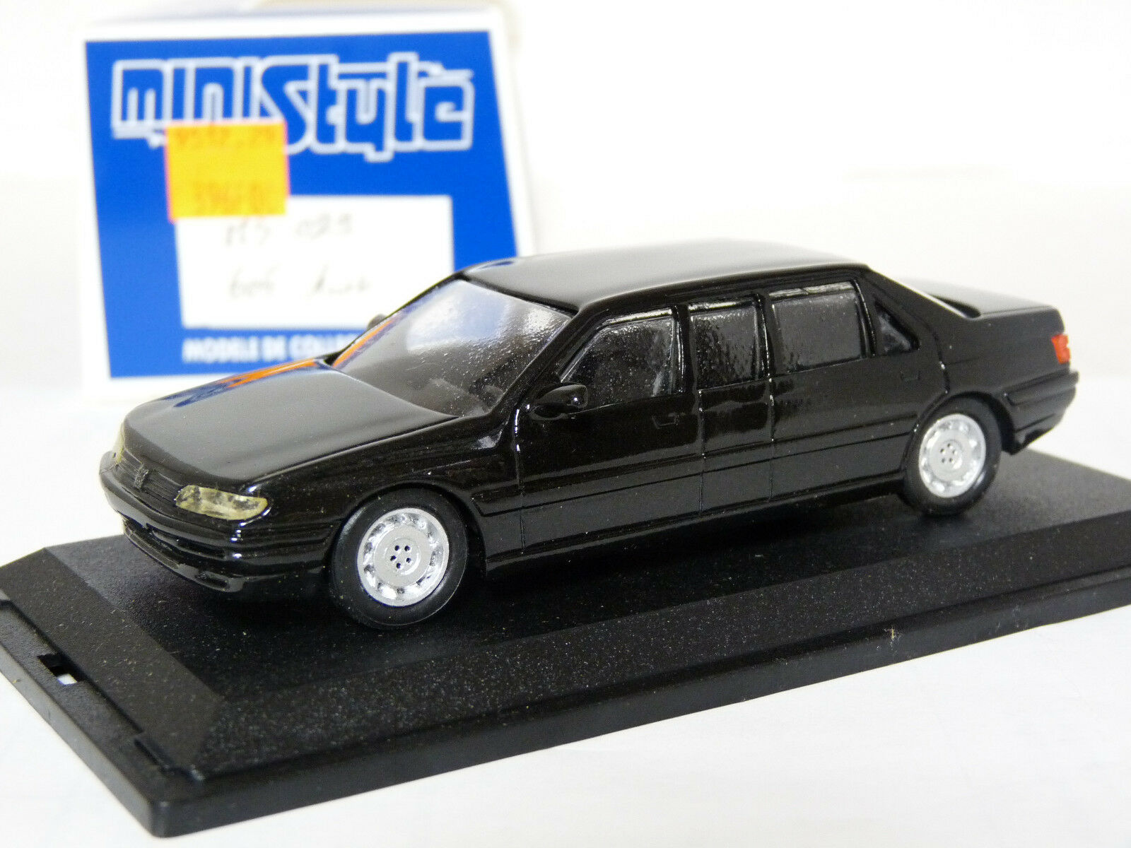Ministyle 029 1 43 PEUGEOT 605 Labbe Limousine Handmade Résine Voiture Modèle