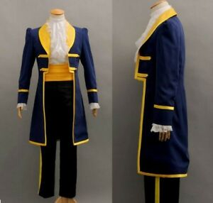 Image is loading Prince-beast-costume-beauty-and-the-beast-cosplay- & Prince beast costume beauty and the beast cosplay fantasy halloween ...