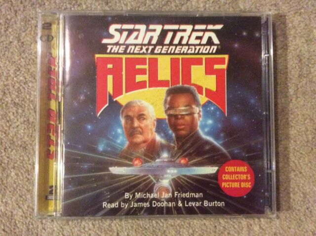 Rare Star Trek The Next Generation Relics 2 CD (Story Read By James Doohan)