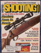 Vintage Magazine SHOOTING TIMES, August 1986 !!! MOSSBERG Model 1500 RIFLE !!!
