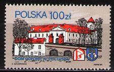 Poland 1989 Sc2909  Mi3205 0.7 MiEu  1v  mnh  Polonia House, Pultusk