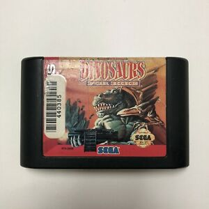 Dinosaurs for Hire (Sega Genesis, 1993) Cartridge Only Tested Fast Shipping