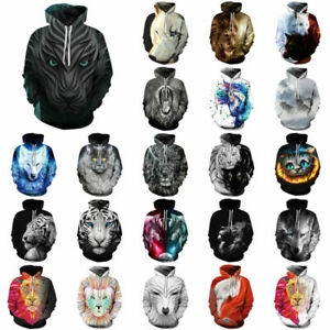 Men-Women-039-s-3D-Animal-Print-Hoodie-Sweater-Sweatshirt-Pullover-Graphic-Tops