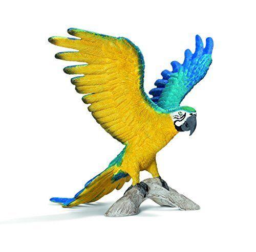 Schleich Macaw  Blue Yellow