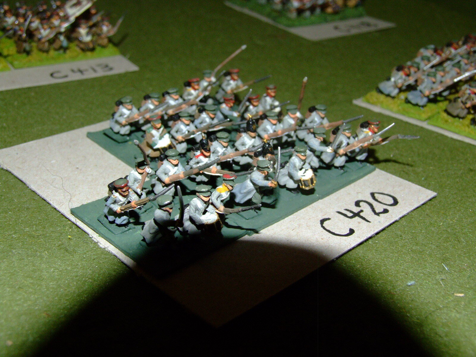 15mm 19th century   crimean - Russian 30 Infantry - inf (CL420)
