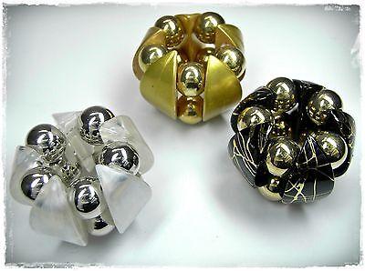 Clothing, Shoes & Accessories Fashion Jewelry Efficient 3 Schalhalter Farben Silber/schwarz/weiß/gold Tuchhalter Schalclip Tuchclip Possessing Chinese Flavors