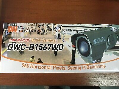 DIGITAL WATCHDOG DWC-B7753TIR 2MP WEATHER RESISTANT BULLET CAMERA FACTORY NEW