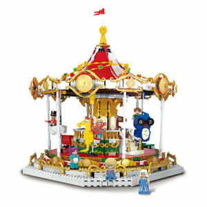 XINGBAO-30001 Rotierende Karussell Modell Baustein Montage Spielzeug OVP 2592PCS