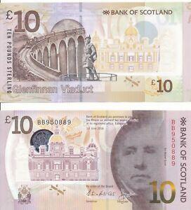Scotland-Bank-of-Scotland-10-pounds-2016-2017-UNC-Pick-New-Polymer