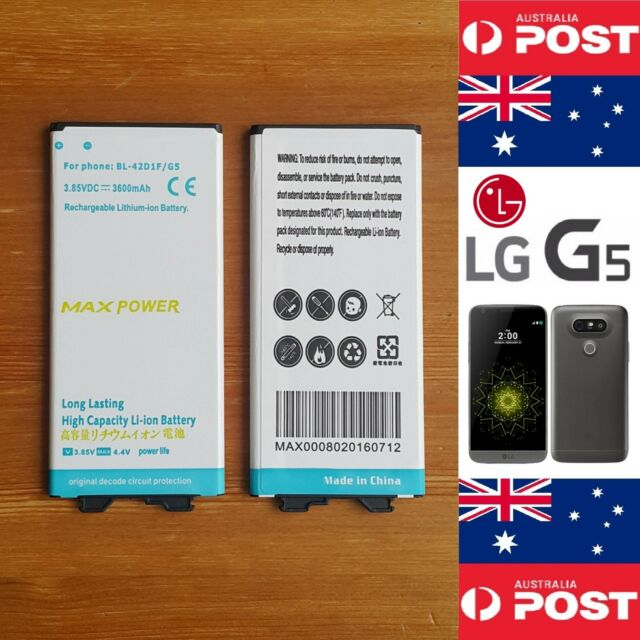 LG G5 MAXPOWER High Capacity Battery BL-42D1F 3600mAh Good Quality  Local Seller