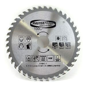 Masterproof-Kreissaegenblatt-190-mm-40-Zaehne-Schnittbreite-2-6-mm