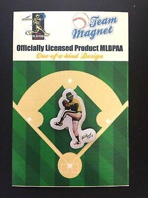 Baseball & Softball #1 Fan Favorite Spieler Fanartikel Oakland Athletics Jim Hunter Magnet-collectable-catfish