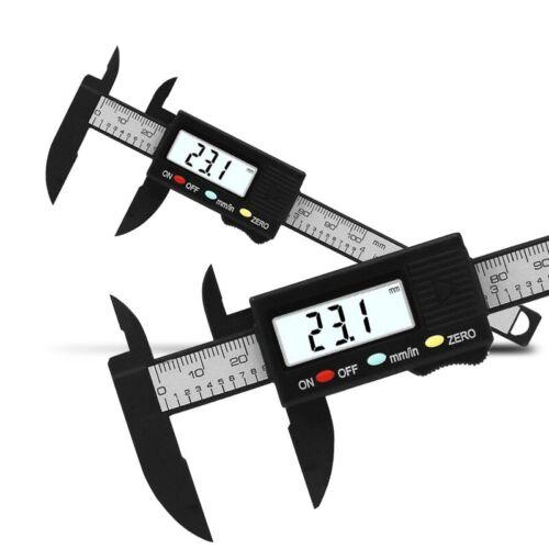 Electronic Digital Vernier Caliper Gauge Measuring Tool Measuring Calibre 100mm   eBay