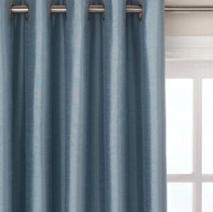 John-Lewis-Faux-Silk-Blackout-Lined-Eyelet-Duck-Egg-Curtains-W167-x-D137cm-A