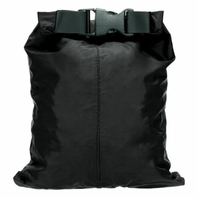 HIGHLANDER LARGE POUCH WATERPROOF PACK X-LIGHT DRY SACK SAILING CAMPING 8L BLACK