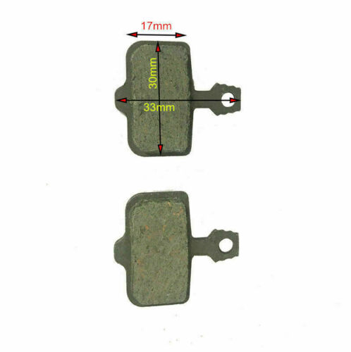 2 x Replacement MTB Bike Bicycle Organic Disc Brake Pads Kit For AVID Elixir