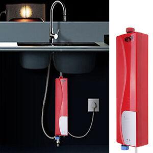 3000w lcd electrique chauffe eau robinet r chauffeur - Chauffe eau electrique cuisine ...