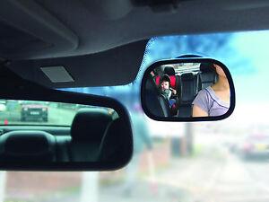 UK Baby Car Mirror Baby Car Seat Mirror Shatterproof Safe Rear-Facing Car Mirror
