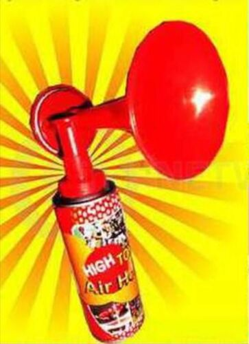 5 X HAND HELD AIR HORNS GAS PARTY SPORTS FOG HORN LOUD FOOTBALL EVENT PARTY GAME