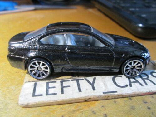 NO BOX! LOOSE HOT WHEELS 2010 Metallic Black BMW M3 Car SCALE 1//64