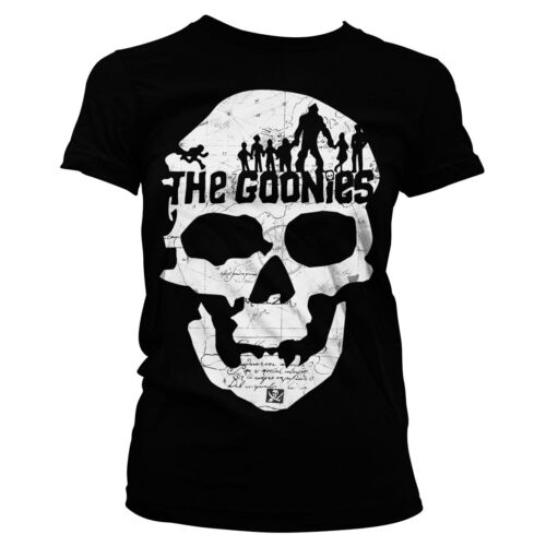 Licence Officielle The Goonies-Goonies Crâne T-shirt femme S-XXL tailles