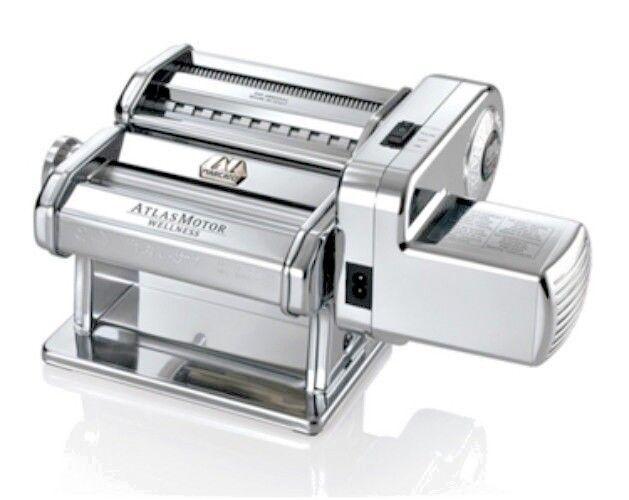 Marcato Atlas Wellness 150mm  Electric Pasta Drive Maker Set New Version