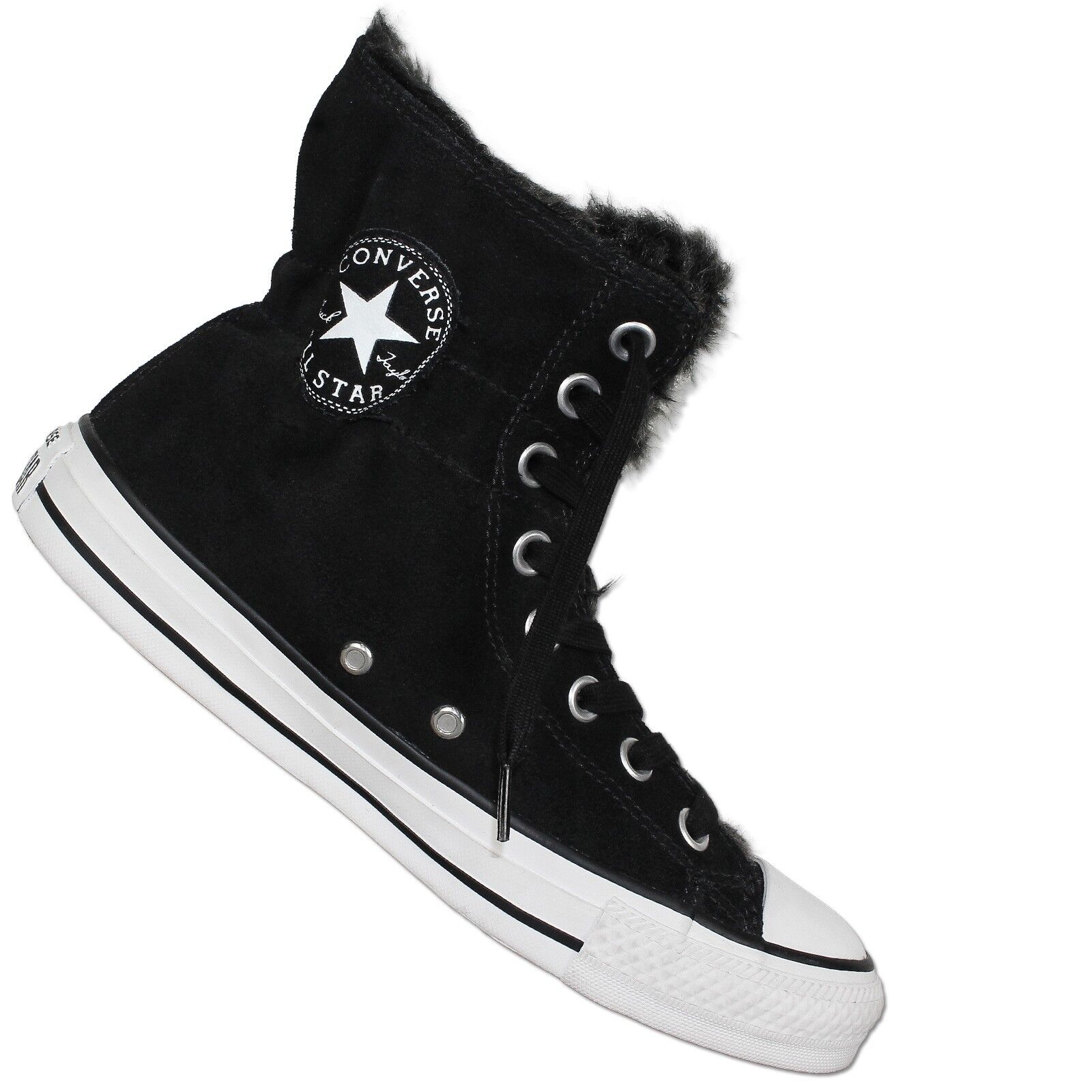 Converse all Star Chuck Taylor Ct Clr Scrunch Hi Black Winter shoes Padded