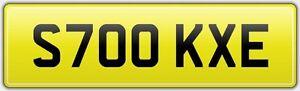STOKE-CAR-REG-NUMBER-PLATE-S700-KXE-STOKEY-CITY-FOOTBALL-CLUB-POTTERS-SCFC-SFC