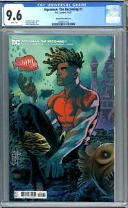 Aquaman: The Becoming #1  Francis Manapul 1:25 Variant 1st Print CGC 9.6