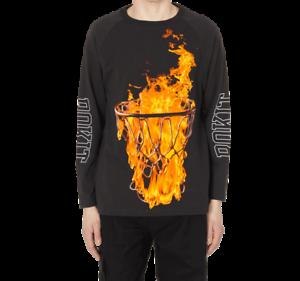 Noir et or Basket Standard Unisexe T-Shirt