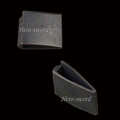 High Quality Black Color Habaki For Japan Samurai Sword KATANA wakizashi tanto