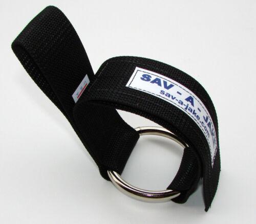 """Sav-A-Jake Firefighter Halligan Holster 3/"""" ring"""