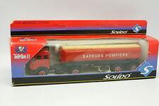 Solido Pompiers 1/50 - Mercedes Semi Remorque Citerne