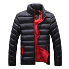 Military Mens Thick Stand Collar Casual Coat Winter Warm Outwear Padded Jacket