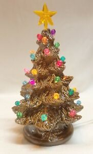 Details About 5 Vintage Nowell 779 Ceramic Christmas Tree Modern Brass Electric Light Kit