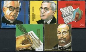 Malta People Stamps 2005 MNH Personalities Composers Historians Doctors 5v Set