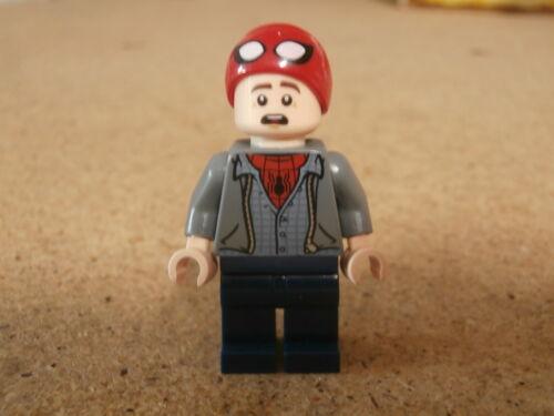 Spider-Man Cap 76129 Neuf LEGO Minifig Superhero Peter Parker
