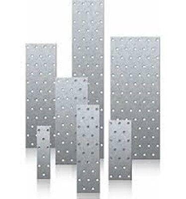 Lochplatten 100X200X2,0mm Holzverbinder Lochbleche Nagelplatten Winkel