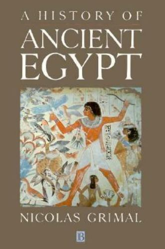 A History of Ancient Egypt by Grimal, Nicolas