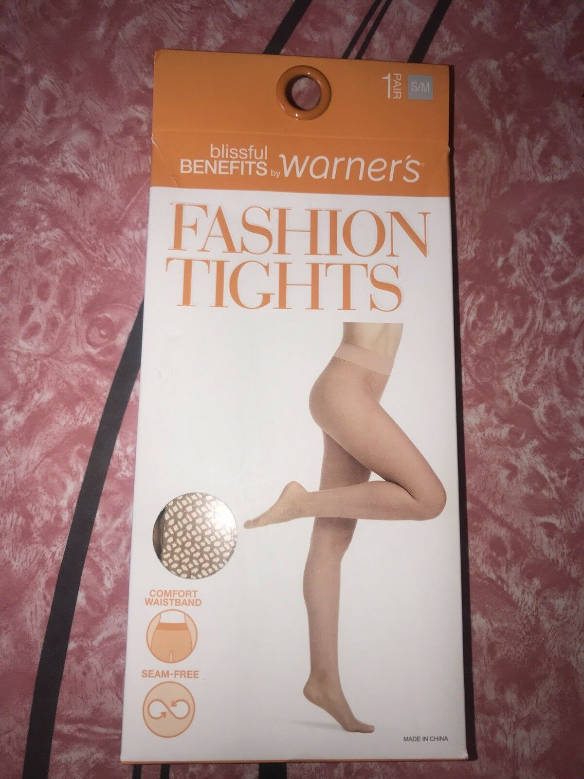 bd30fb9cdae85 1 S/m Warner's Fashion Tights Women's Textured Blissful Benefits Hose Nude  for sale online | eBay