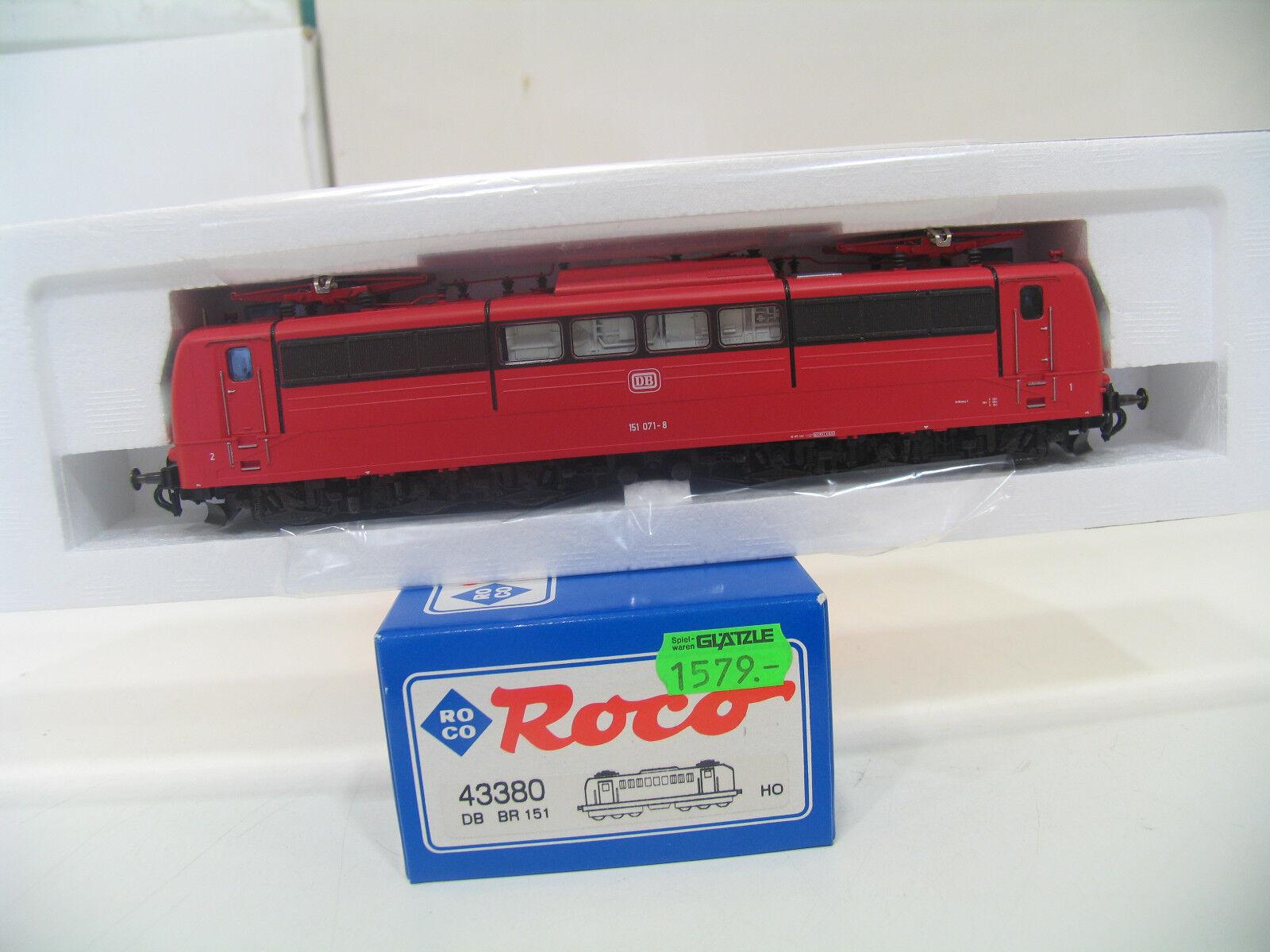 ROCO 43380 E-Lok BR 151 rosso della DB a79