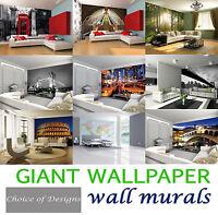 Giant Wallpaper Murals Stylish Featured Modern Themed Bedroom Livingroom Designs