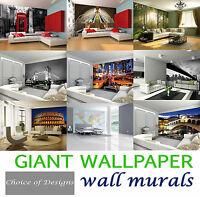 Giant Wallpaper Murals Stylish Featured Modern Themed Bedroom Livingroom Designs